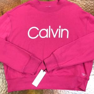 Calvin Klein Performance Crop Sweatshirt